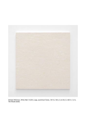 """White Wall 14"" by Michael  Wilkinson"